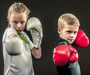 Бокс кикбоксинг дети